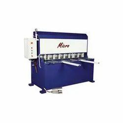 NC - Gulliotione Shearing Machine
