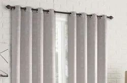 52 x 60 inch Ivory Printed Blackout Curtains