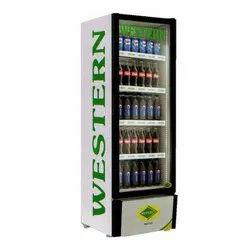 Single Glass Door SRC 380-Gl 340 Liters Western Visi Cooler, No. of Baskets/Shelves: 5