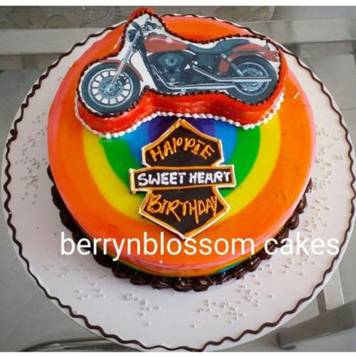 15kg Harley Davidson Cake at Rs 1600 piece Ponniammanmedu