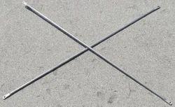 Stainless Steel Silver Scaffolding Cross Braces