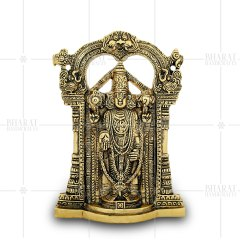 Gold Plated Tirupati Balaji Statue