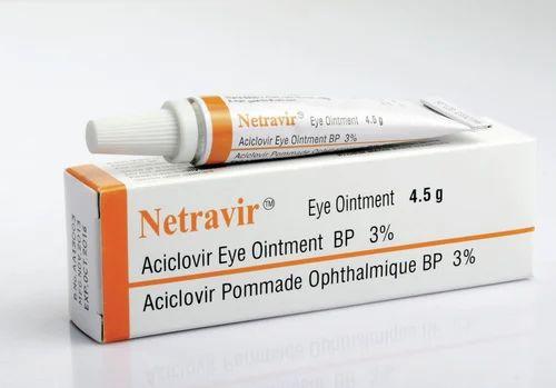 Netravir Aciclovir Eye Ointment BP Manufacturer from Kutch