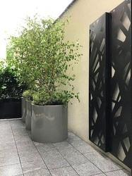 Courtyard Laser Cut Screens and Panels