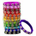 Colourful Silk Thread Bangles