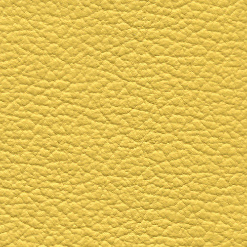 Yellow Colour Leather