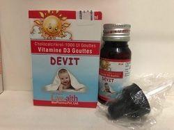 Devit Vitamin D3 (Cholecalciferol) Drop, Packaging Size: 30 Ml