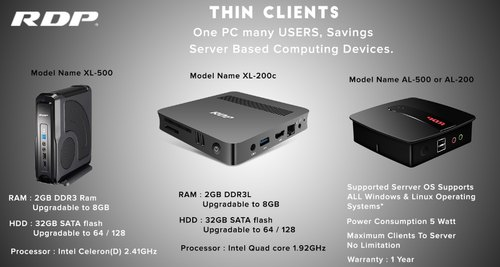Thin Clients   Scrutiny Software Solutions Private Limited