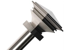 Stacked Square Stainless Steel Curtain  Rod