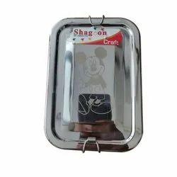 Shagoon Silver SS Lunch Box