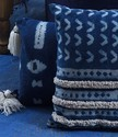 Beautiful Hand Tufted Mud Cloth Cushion Cover