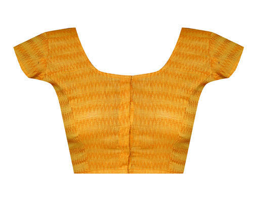 af102bd27c Deep Neck Dobby Applique Work Readymade Blouse at Rs 659 /piece ...