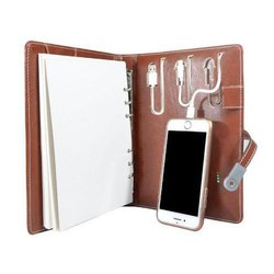 Brown Power Bank Executive Diary