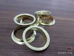 25mm Mild Steel Flat File Rings Golden