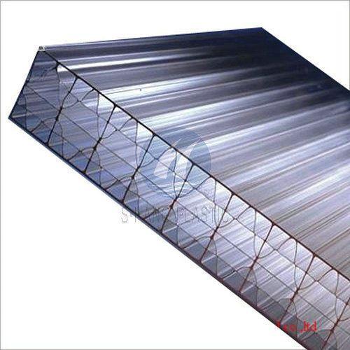 Faisal Lite PC Six Wall Hollow Sheet, Thickness: 16mm,20mm