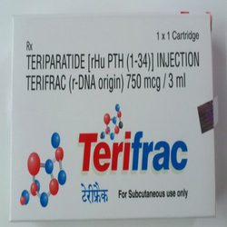 Teriparatide Terifrac 750mcg/3ml Injection