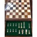 14 Brass International Chess Set