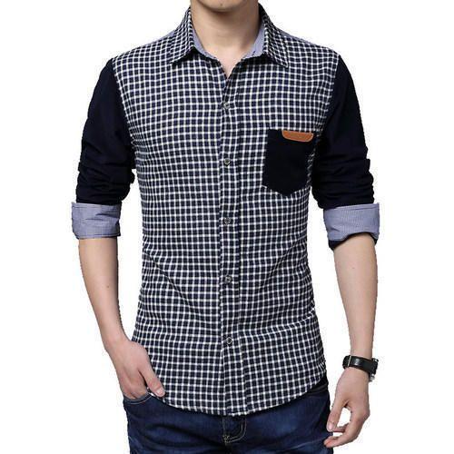 138e4736a Checks Available In Cotton And Linen Men s Designer Shirt