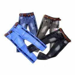 Kids Denim Side Strip Jeans
