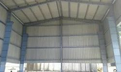 M.S. Modular Prefabricated Industrial Building, for small machine shop