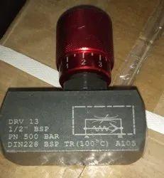 Hydraulic Inline valves