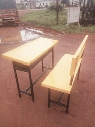 FRP School Desk Bench