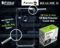 Air-Bag Oppo Real-Me-3i Transparent Mobile Cover