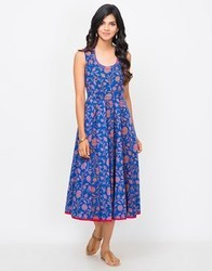 Cotton Printed Panelled Dress
