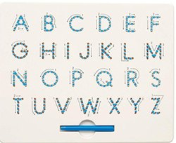 Magnetic Alphabet Pad