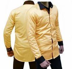 Yellow Designer Shirt