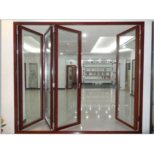 Aluminium Folding Door at Rs 160 /square feet | Old Palasia ...