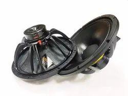 铝合金黑色DASSKA DX 1202N 12寸DJ扬声器400W,RMS-400,PEAK-800