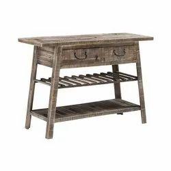 Rectangular Antique Wooden Table