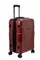 F Gear Valkyrie Polycarbonate 64 (cm) Maroon Hardsided Suitcase (4 Wheel Trolley Case)