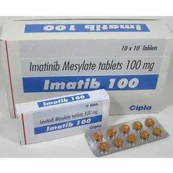 Imatinib Mesylate 100mg- Imatib-100