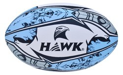 Rugbyball Premium Quality, Size 5, Hawk Ultima