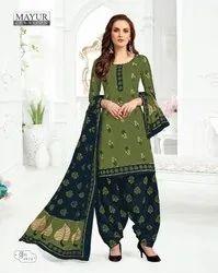 Regular Wear Mayur Khushi Vol-49 Cotton Dress Materials