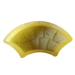 Half Curved PVC Rubber Paver Mould