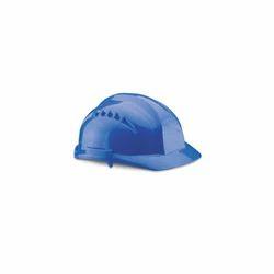 Blue Polypropylene Plastic Udyogi Safety Helmet Vista 7000 Series