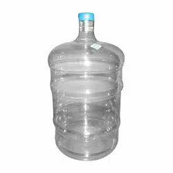 Transparent Plastic 20 L Water Jar, For Office