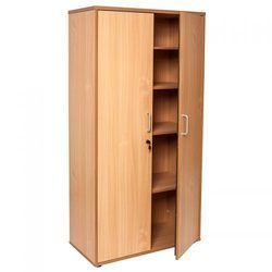 Wood Storage Cupboard