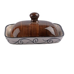 Ceramic Brown Butter Dish
