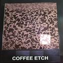 Coffee Etch Designer Sheet
