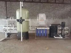 Neptune Industrial Reverse Osmosis Plant, RO Capacity: 200-500 (Liter/hour), Automation Grade: Semi-Automatic