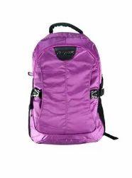 Purple Color College Bag