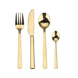 Kitchen Cutlery Gold Plated PVD Coating Services