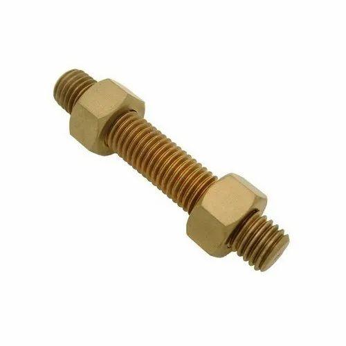 Copper Nuts And Bolts >> Copper Alloy Hex Nuts Bolts Rs 29 Unit Ranflex Metals Id
