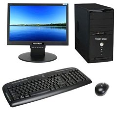 i3 TEDDY BEAR DESKTOP COMPUTER, Model Number/Name: Tb-dc0519-i340, Window