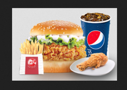 ME Chicken Burger Combo Pack