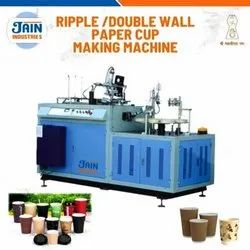 Automatic Double Wall / Ripple Cup Making Machine